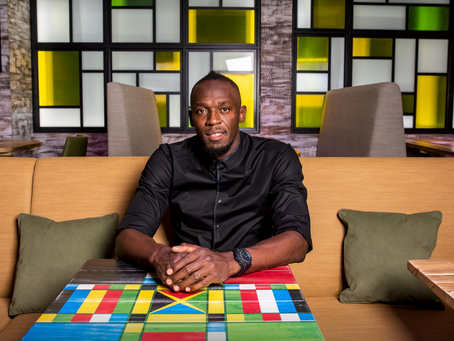 Usain Bolt Launches His First UK Restaurant