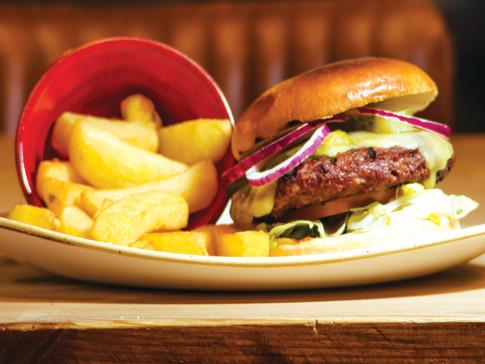 Burger & Chips at SAMA Bankside Southbank London