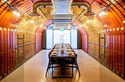 Private meeting room and private dining room at Sama Bankside, London