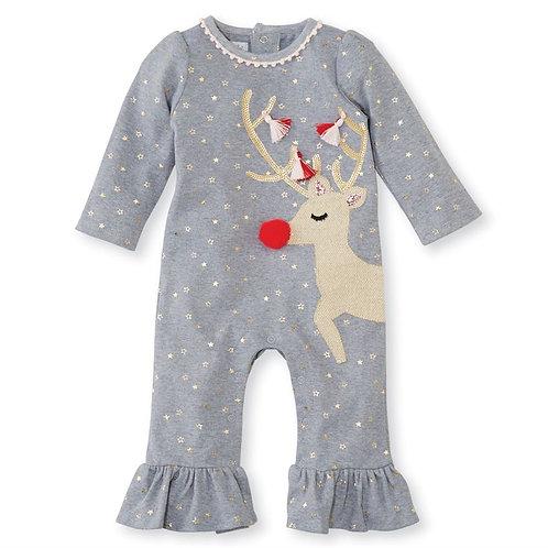 Mud Pie Reindeer Bodysuit
