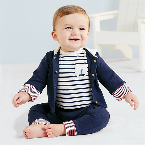 Mud Pie Nautical Set