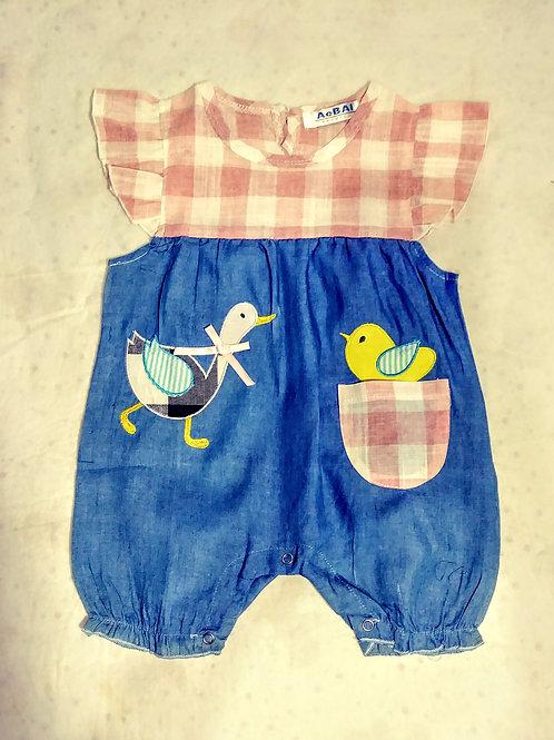 Duck/ chic romper