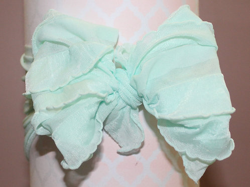 MESSY BOW! Teal