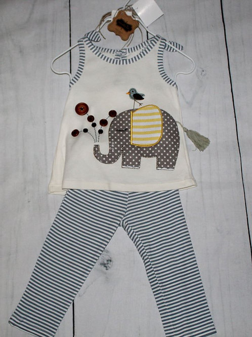 Mud Pie Elephant Outfit