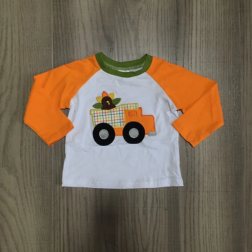 Plaid Turkey Truck Shirt