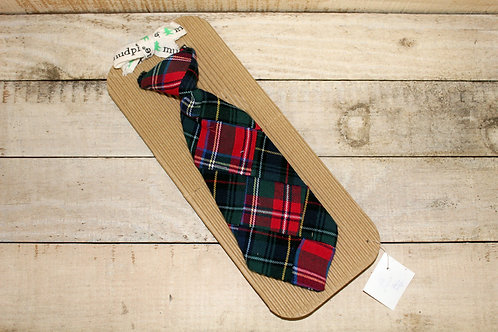 MUD PIE Boy Christmas tie