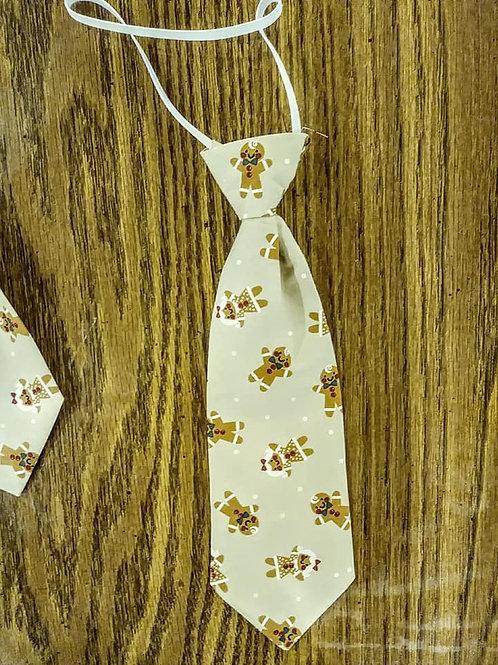 Gingerbread Christmas tie