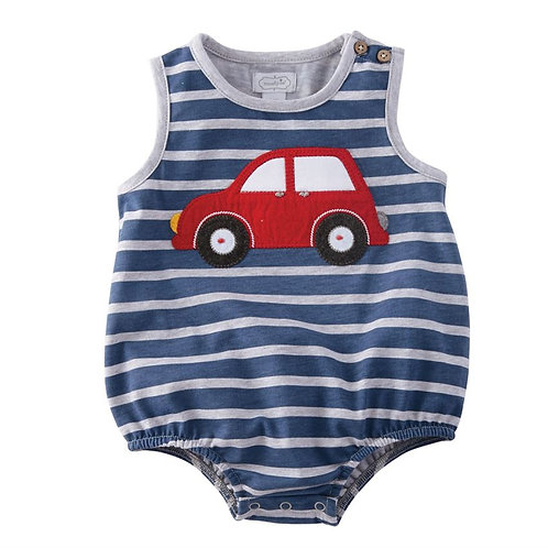 Primary Colors Car Romper