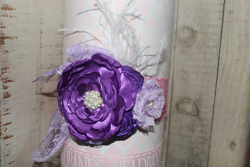 Lavender Pageant style Hairbow