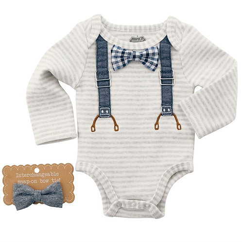 Mud Pie Bowtie Bodysuit