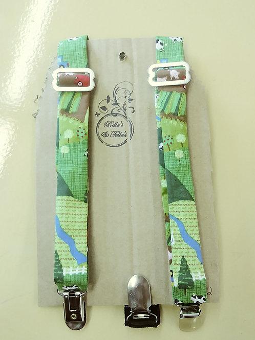 Farm animals suspenders