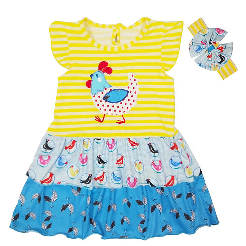 Chickie dress & headband