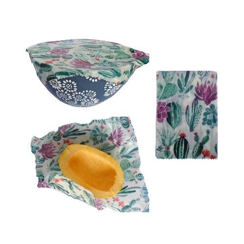 Medium, Large, Casserole Beeswax Wrap Set