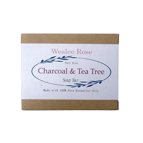 Charcoal & Tea Tree Soap Bar