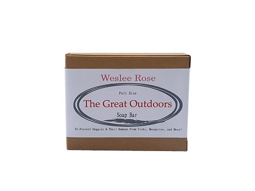 The Great Outdoors Soap Bar