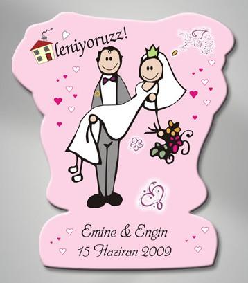 Düğün Magnet Örnekleri