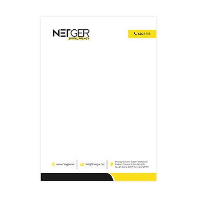 Antetli Kağıt Baskı Fiyatları A4 (21x29 cm)