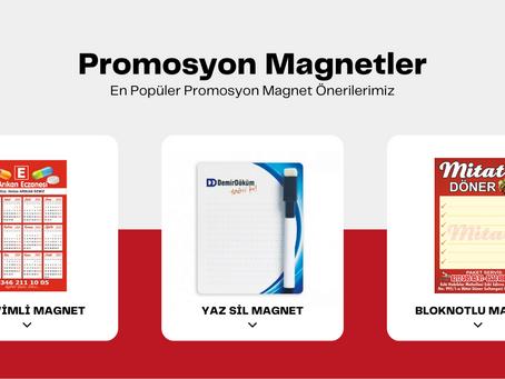 En Popüler Promosyon Magnet Önerilerimiz