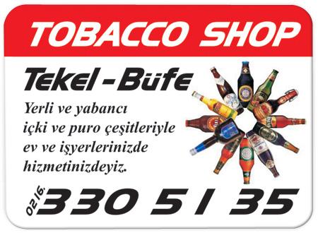 Tekel Bayii Tobacco Shop Magnetleri