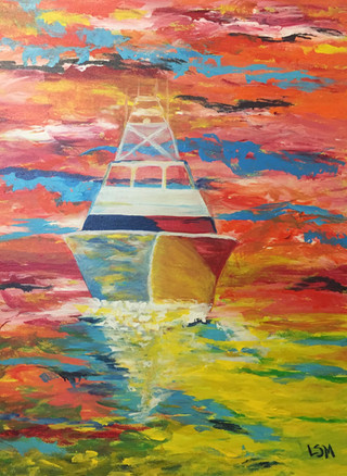 Come Sail Away 18 x 24