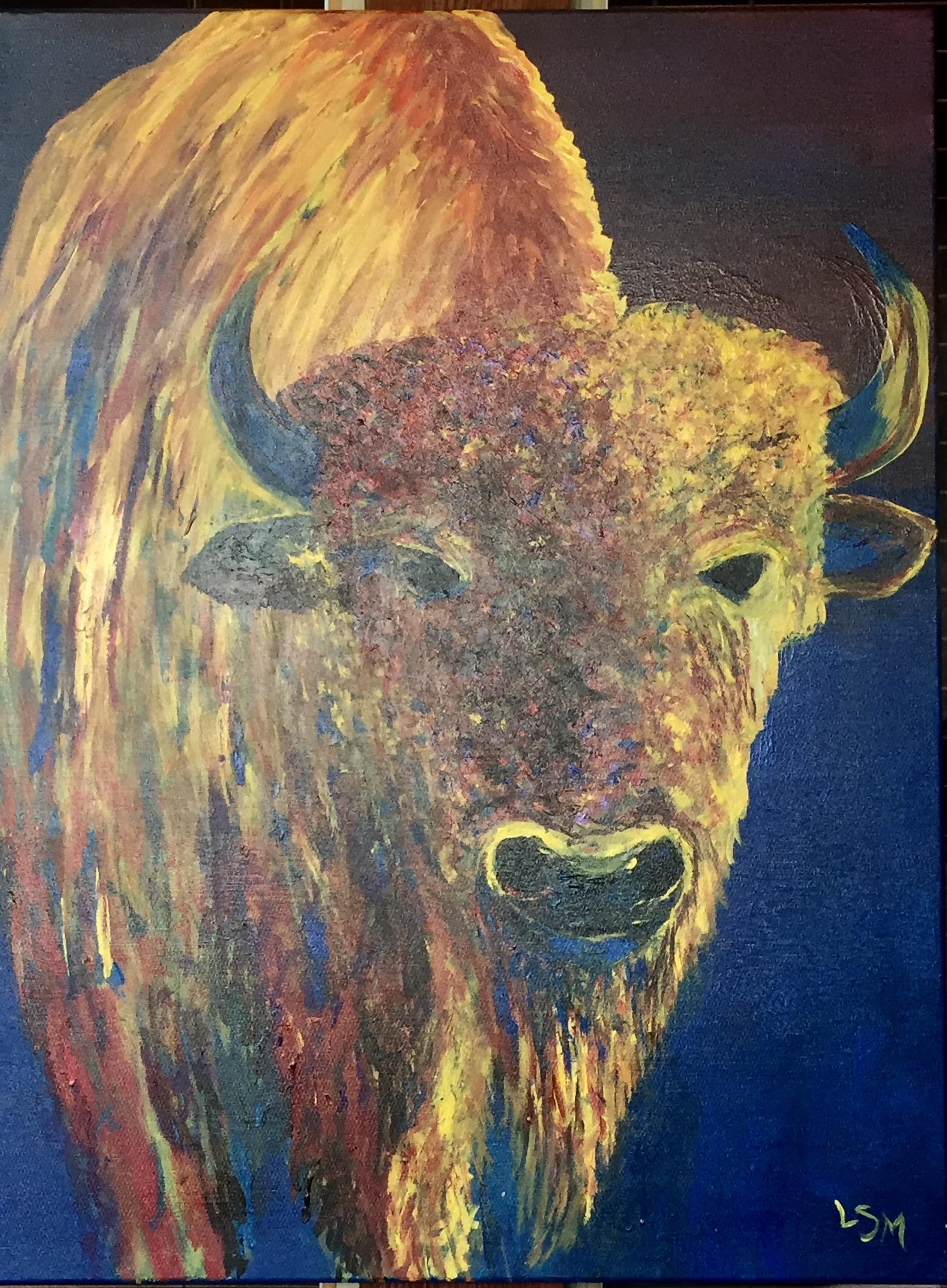 Fire Buffalo - for Nancy