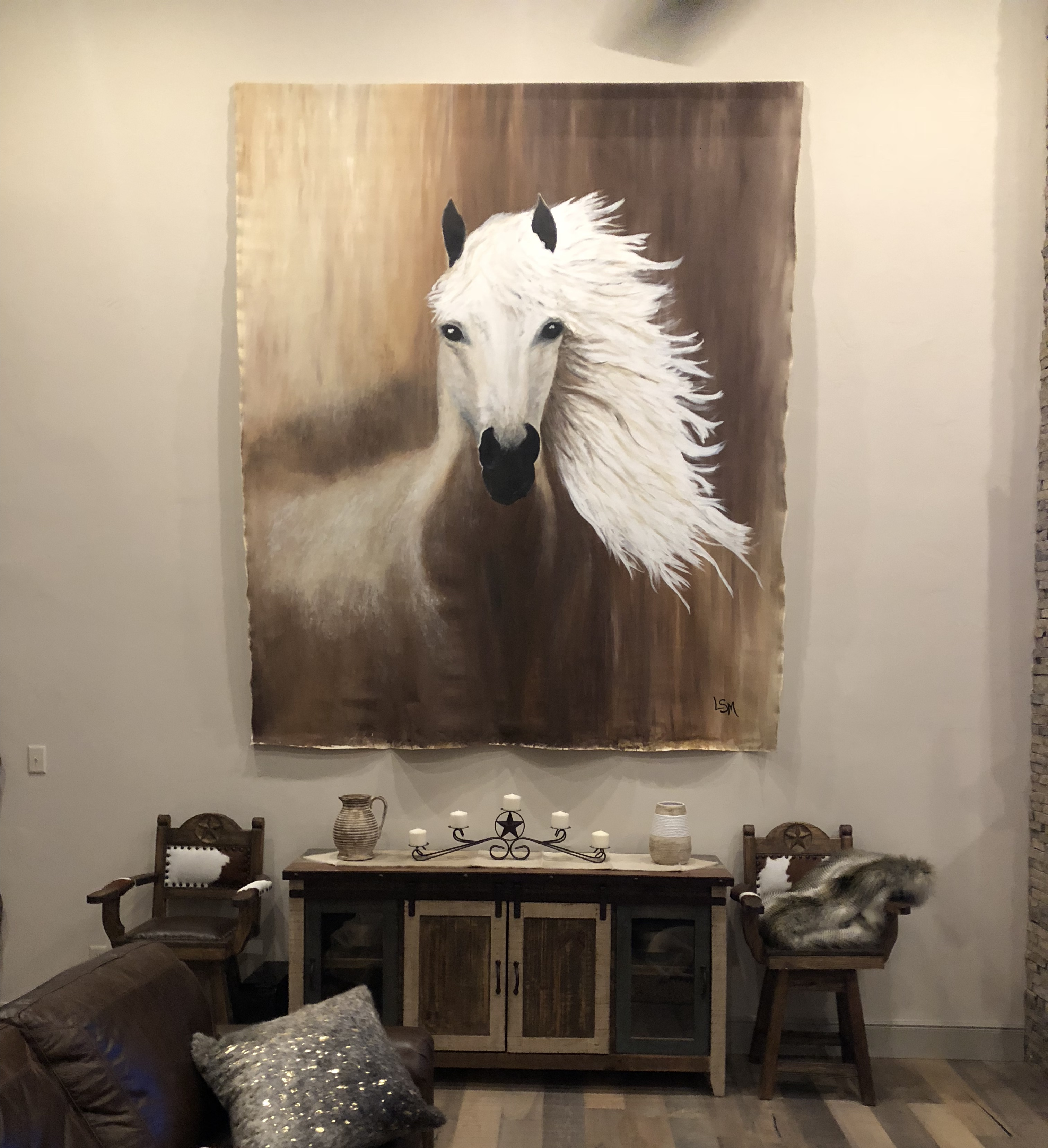 Miller Horse 10 ft x 8 ft