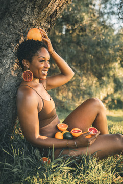 Real Fruit Jewelry (grapefruit)