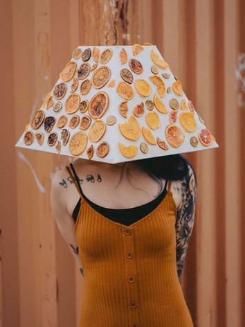 Real citrus Lampshade