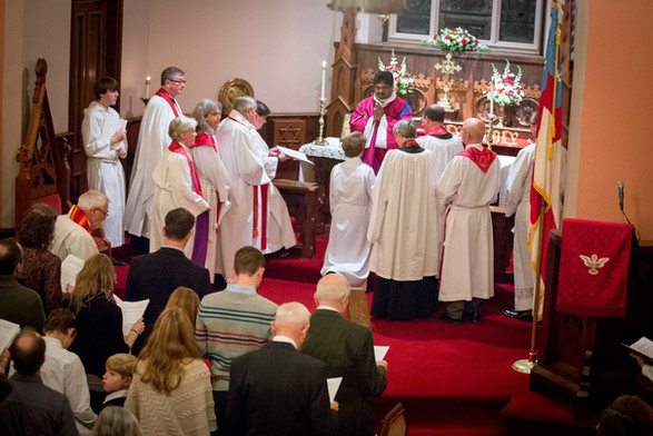 Virginia's Ordination