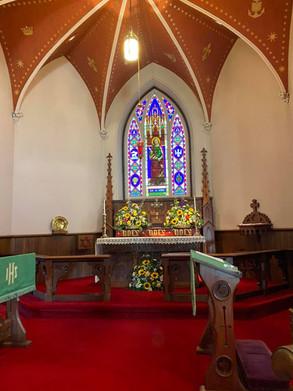 Altar Flower Arrangements thanks to our wonderful Altar Guild