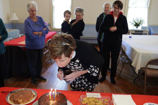 Rev. Virginia Tyler Smith celebrating 4 years with St. John's!