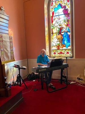 Our music director, John Richards
