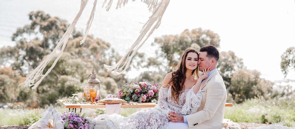 LA JOLLA THE BEST VIEW WEDDING   I   KATE + AUNDER