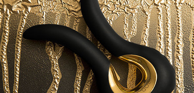 Tiffany Black 24k Gold Vibrator