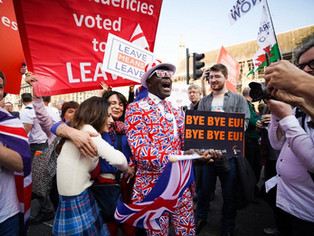 I was at the Brexit March – the next one might not be so peaceful