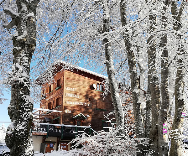 Le Chamois hiver