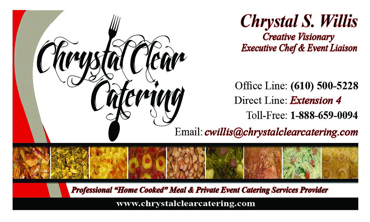 Catering Services Business Cards | Arts - Arts