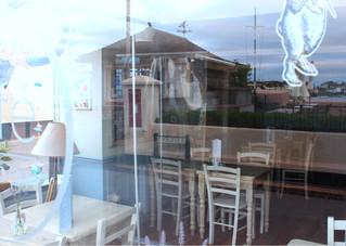 Strand Cafe reflections