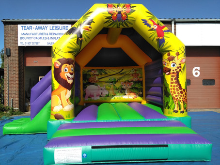 Bright and eye catching jungle combi just completed