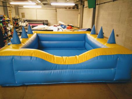 Air juggler ball pool