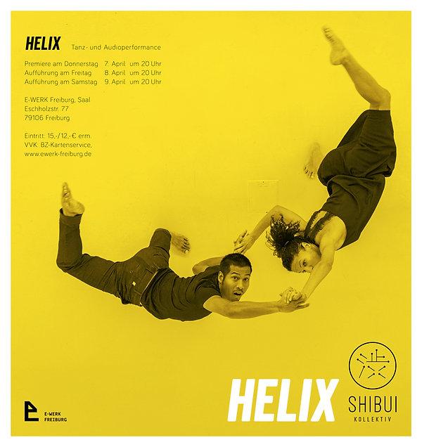 Emi Miyoshi. SHIBUI Kollektiv, HELIX, Dance and Audioperformance