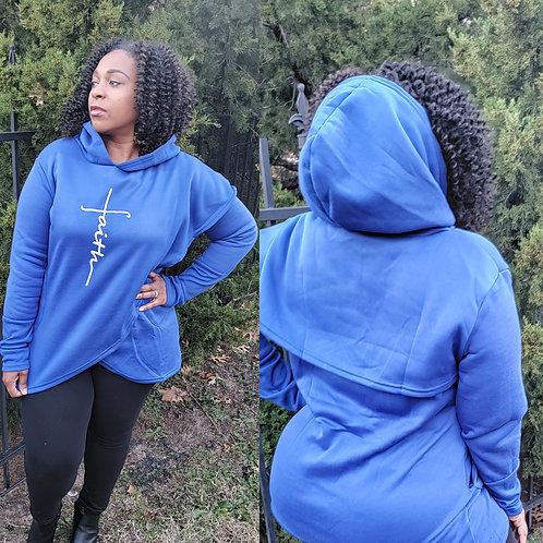Faith split sweatshirt