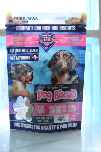 PURE PAWS CBD FOR PETS, DOGGY BISCUIT
