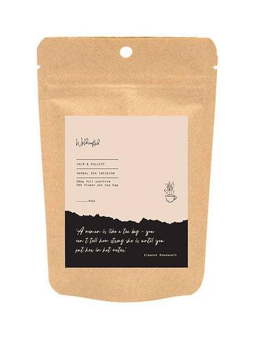 Calm + Collect - herbal tea infusion 20mg CBD
