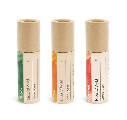 Happy Lips (Set of three)