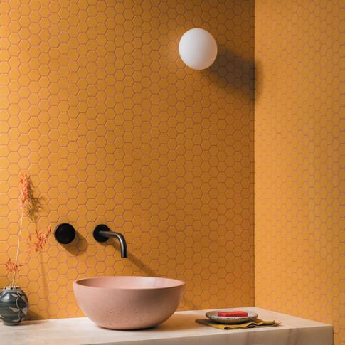 Hexa-Mustard-Matt-Hexagon-Porcelain-Mosa