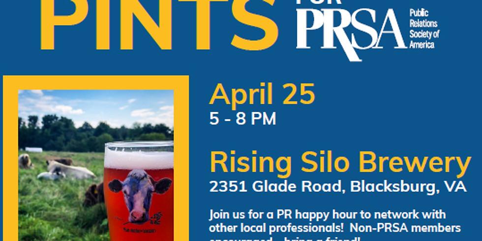 PR and Pints at Rising Silo Brewery Blacksburg