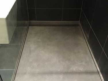 base de douche