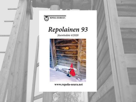 """Новости проекта """"Дорогами Вяйнолы"""" в новом номере Repolainen '93"""