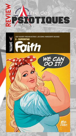 Review LADP : Faith tome 3